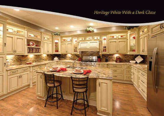 Heritage White Dark Glaze